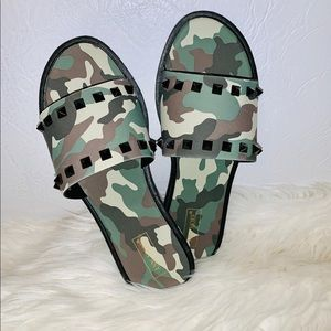 Ann More military sandals